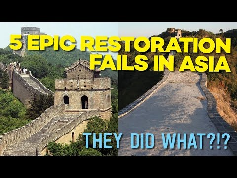 5 Epic Restoration Fails in Asia That Will Shock You
