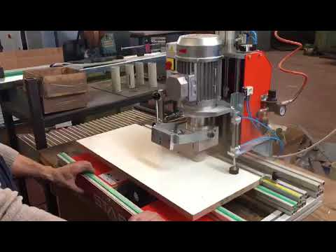 Uniholz setting for Cabineo (Lamello) jointing system