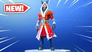 The New KRAMPUS Skin Gameplay in Fortnite..