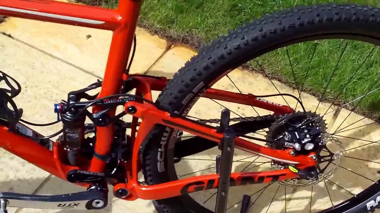 Giant Anthem X 2010 Race Bike Youtube