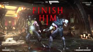 Mortal Kombat X Online Ranked Matches - FINISH HIM (MKX PC Gameplay)
