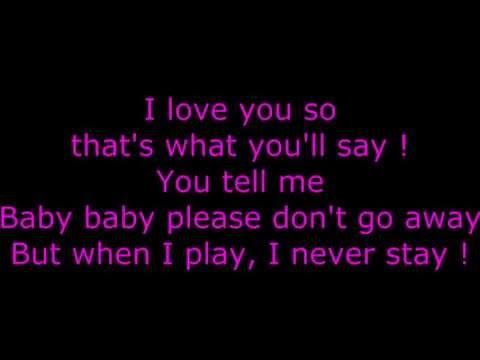 Bruno Mars  Runaway Ba Lyrics