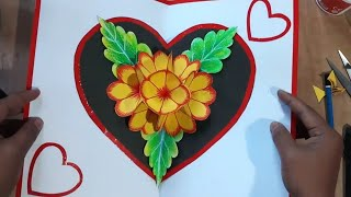 Valentine's Day Card Making | Pop-Up Greetings Card
