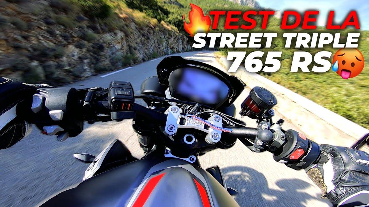 TEST DE LA STREET TRIPLE 765 RS 🔥🥵 #PURESOUND