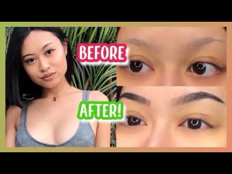 HOW I TINT MY EYEBROWS AT HOME! (only 20 minutes!) thumbnail