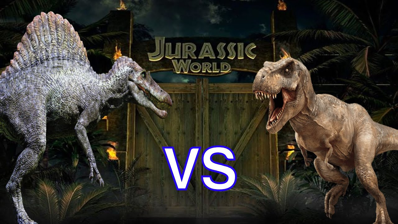 T-Rex vs Spinosaurus: Who Would Win? - YouTube