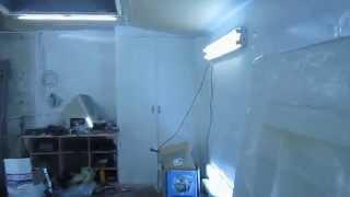 Покрасочная камера своими руками(При постройке камеры, знания черпал из интернета. Строилась из подручных средств! Вложенные средства приме..., 2013-10-24T05:58:40.000Z)
