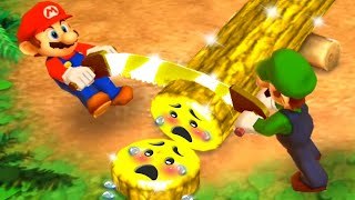 Mario Party The Top 100 MiniGames - Mario Vs Luigi Vs Waluigi Vs Wario (Master Cpu)