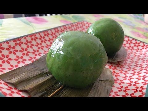 青团制作 How to make Qingtuan | 爱可思的小厨房
