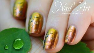 Как сделать Капли росы / Дизайн ногтей / Dew Drop Nail Art / MixStyleCappuccino