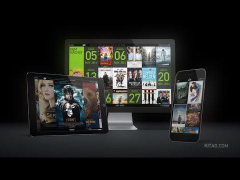 Die neue kitag-Website - Buchen Sie Kinotickets überall und jederzeit