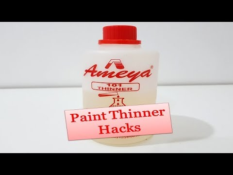 2 Awesome Paint Thinner Hacks