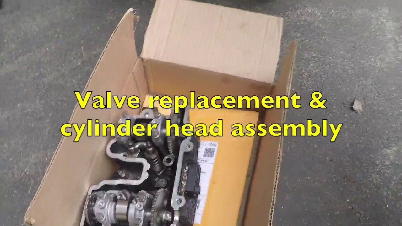 small resolution of kawasaki klr 250 cylinder head installation
