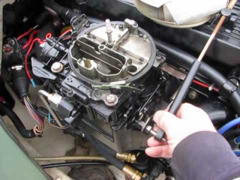 305 Chevy Starter Wiring Mercruiser 3 7 Liter Quot 470 Quot Engine Test With Electric Fuel