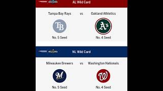 2019 MLB WILDCARD AND PLAYOFF PREDICTIONS! WORLD SERIES WINNER!