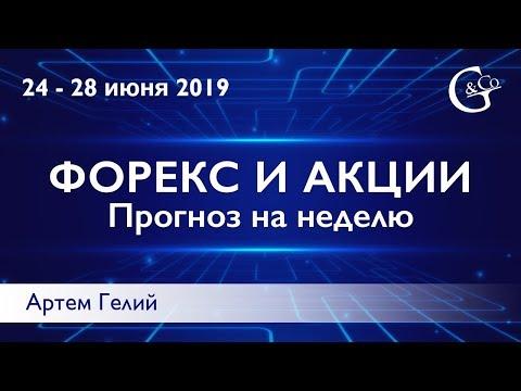 Прогноз форекс на неделю: 24.06.2019 – 28.06.2019