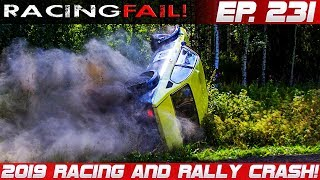 Racing and Rally Crash Compilation 2019 Week 231