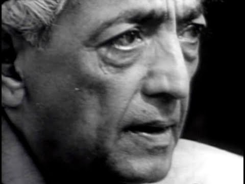 J Krishnamurti - The Real Revolution - 1. Where are we going?