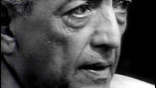 J Krishnamurti - The Real Revolution - 1. Where are we going?