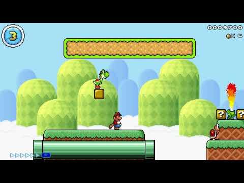 Mario Editor;1-3;Treetop Hills