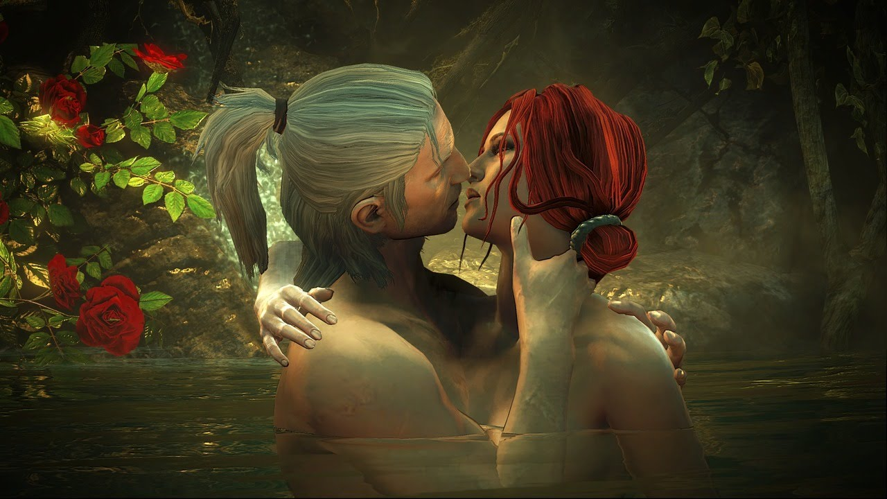 The Witcher 2 Gameplay - Geralt and Triss Sex and Roses! - Part 22 #1