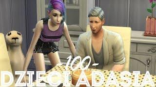 The Sims 4 Pl : Wyzwanie 100 dzieci Adama #143 - Podwójne urodziny i wyprowadzka Rosi