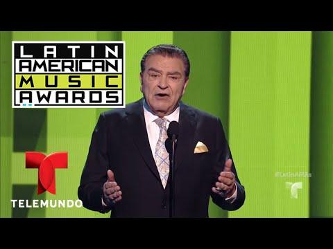 Don Francisco dio un mensaje muy conmovedor durante los Latin AMAS 2017   LAMAS   Entretenimiento thumbnail