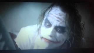 Batman il cavaliere oscuro joker e due facce la follia pura