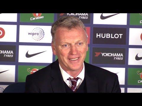 Chelsea 1-1 West Ham - David Moyes Full Post Match Press Conference - Premier League