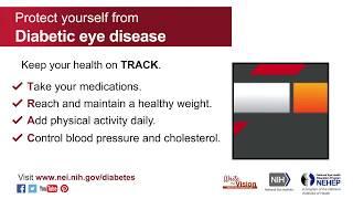 Write the Vision: Diabetic Eye Disease (July)