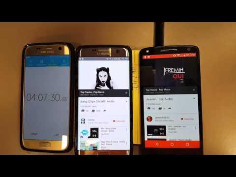 Battery Fight test - Galaxy S7 Edge vs Droid Turbo 2