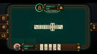 Domino - Dominoes online (by ZiMAD) - classic board game for Android and iOS - gameplay. screenshot 1