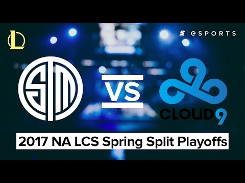 HIGHLIGHTS: Team SoloMid vs. Cloud9 (2017 NA LCS Spring Finals)