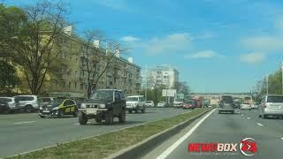 На гостевом маршруте Владивостока убирают рекламные конструкции