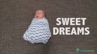 How to swaddle your newborn baby
