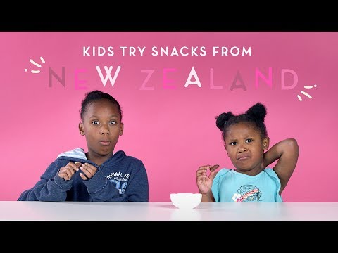 Kids Try Snacks From New Zealand | Kids Try | HiHo Kids
