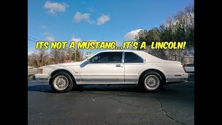 The Lincoln Mark VII is The ULTIMATE Fox body!...Change My mind