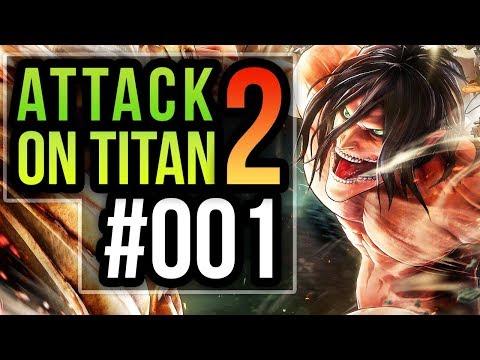 Attack on Titan 2 🎮 [001] Die Welt der Titanen - Let's Play Attack on Titan 2 PS4 Pro Deutsch