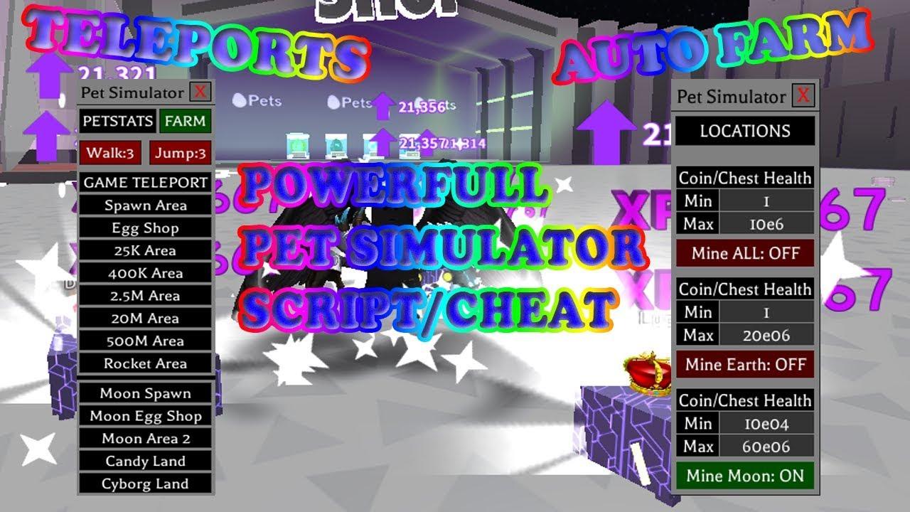 Rainbow Core Shock Roblox Script Hack Pet Simulator Auto