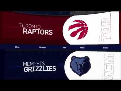 Toronto Raptors vs Memphis Grizzlies Game Recap | 11/27/18 | NBA