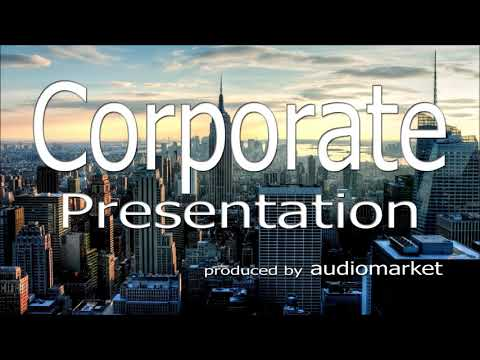 """Corporate Background Music Collection - """"Corporate Presentation"""" (Royalty Free Music by audiomarket)"""