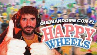 QUEMANDOME CON EL HAPPY WHEELS
