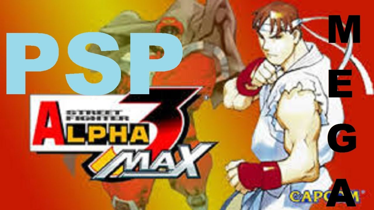 PSP | Descargar Street Fighter Alpha 3 Max | Mega | ISO | Ingles | 2013 |