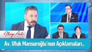 Av  Ufuk Mansuroğlu'nun açıklamaları - Müge Anlı ile Tatlı Sert 28 Ekim 2019