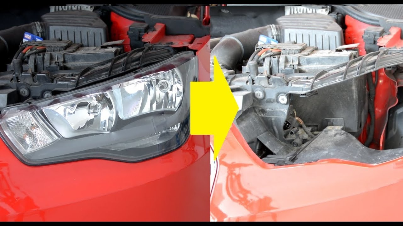 How To Replace Headlamps And Headlight Bulbs Audi A1