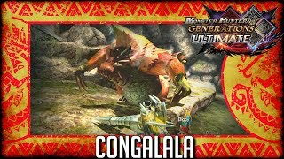 Monster Hunter Generations Ultimate: Congalala