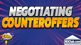 Negotiating Counteroffer - Tips to Negotiating Counteroffers For Buyers