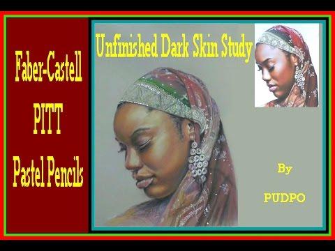 Unfinished Dark Skin Tones in Pastel