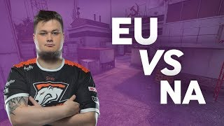 CS:GO Pros Answer: What is the Biggest Difference Between NA and EU CS?
