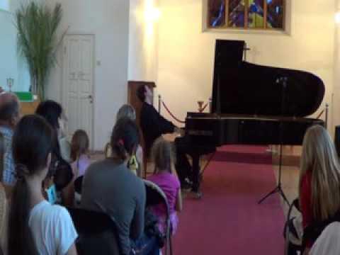 "Misha Krivoruchko plays Beethoven/Liszt ""Eroica"" Symphony no.3 (part 2)"